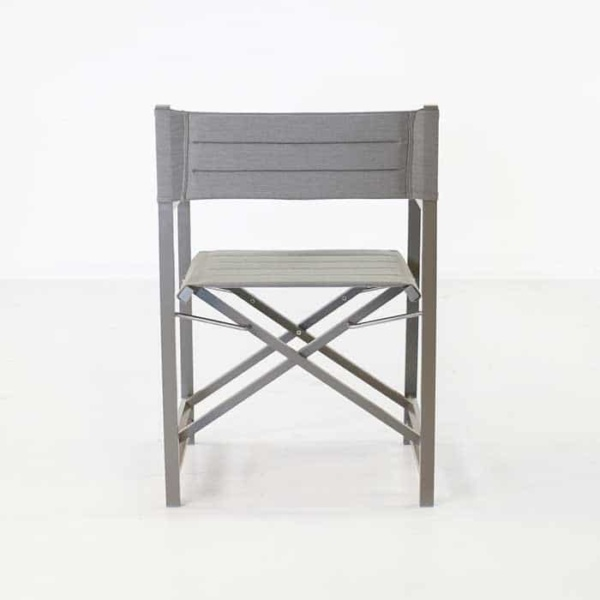 El Fresco director dining chair back view
