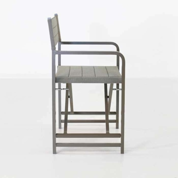 El Fresco director dining chair side view