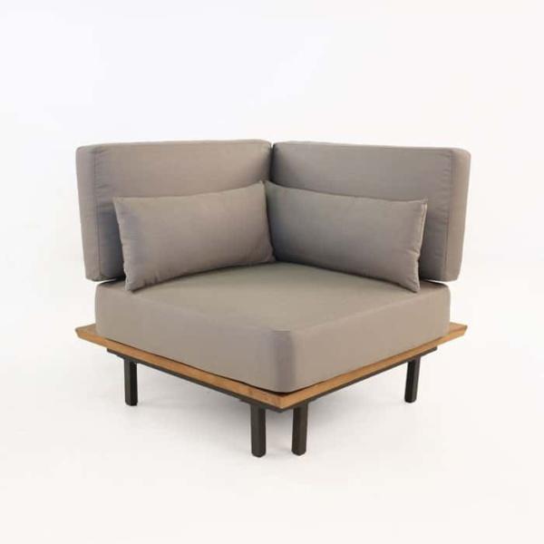 Platform Reclaimed teak corner chair