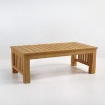 raffles teak coffee table