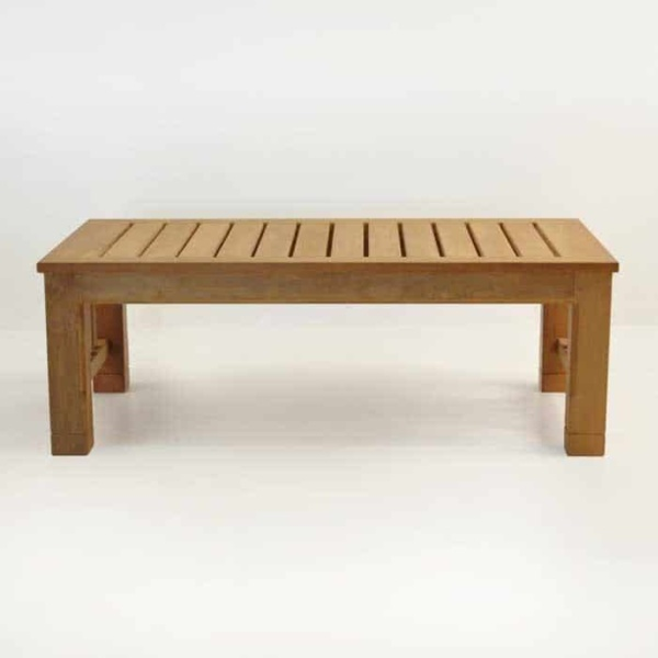 raffles large teak coffee table