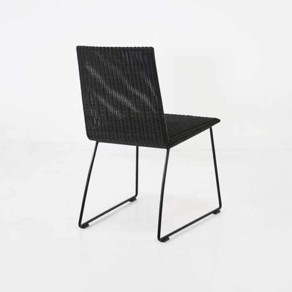 Retro Outdoor Dining Chair back