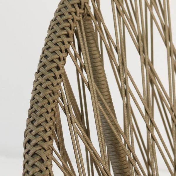 Sunai close up brown wicker weave