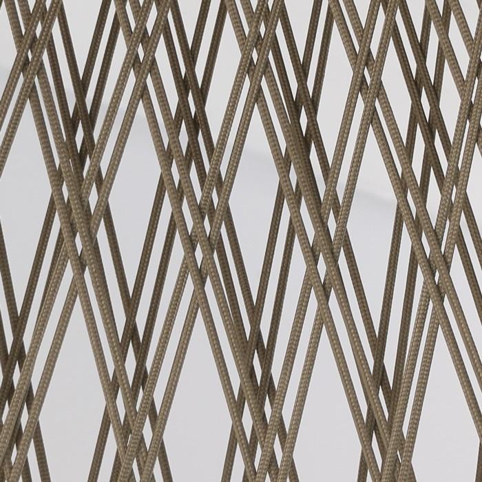 Sunai close up brown wicker open weave