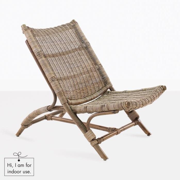 Zen bamboo chair