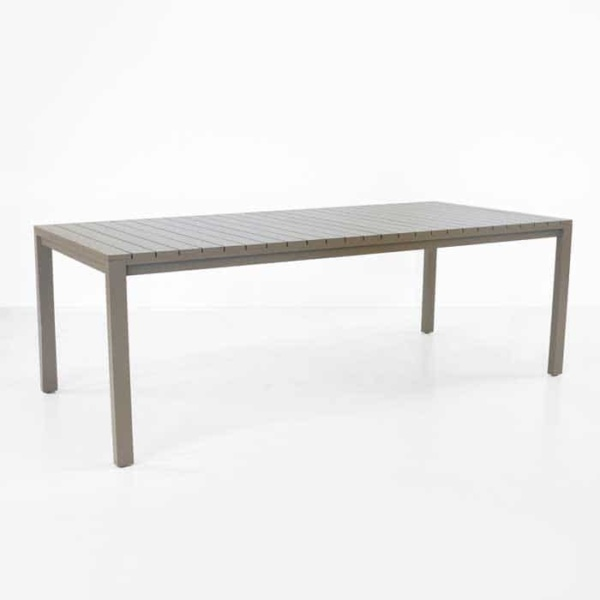 El Fresco rectangle dining table