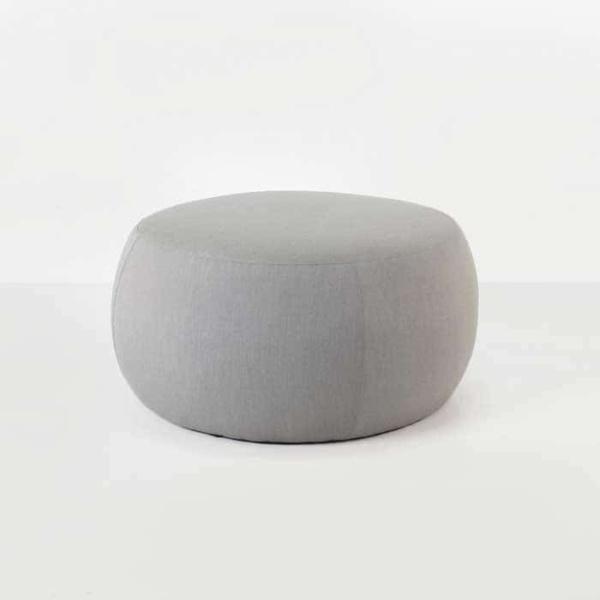 fuji outdoor relaxing pouf in spectrum dove