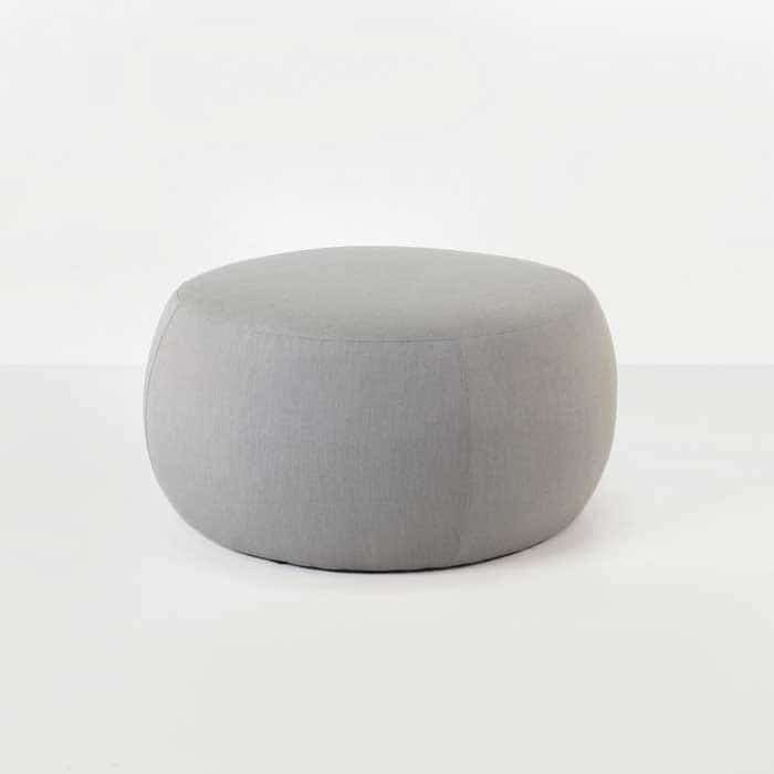 fuji outdoor relaxing pouf in spectrum dove