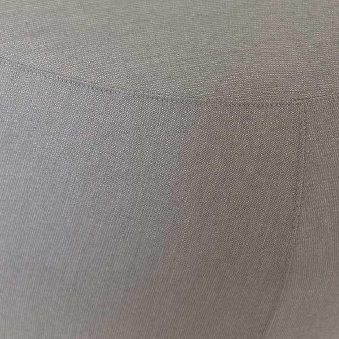 closeup of fuji outdoor relaxing pouf in spectrum dove