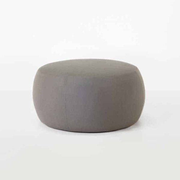 fuji outdoor relaxing pouf in taupe