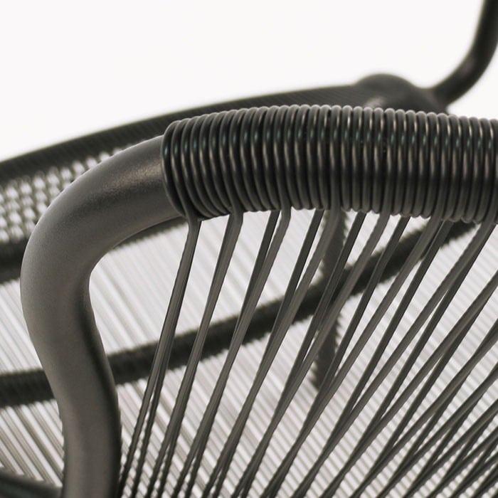 Luxe high-density polyethylene close up