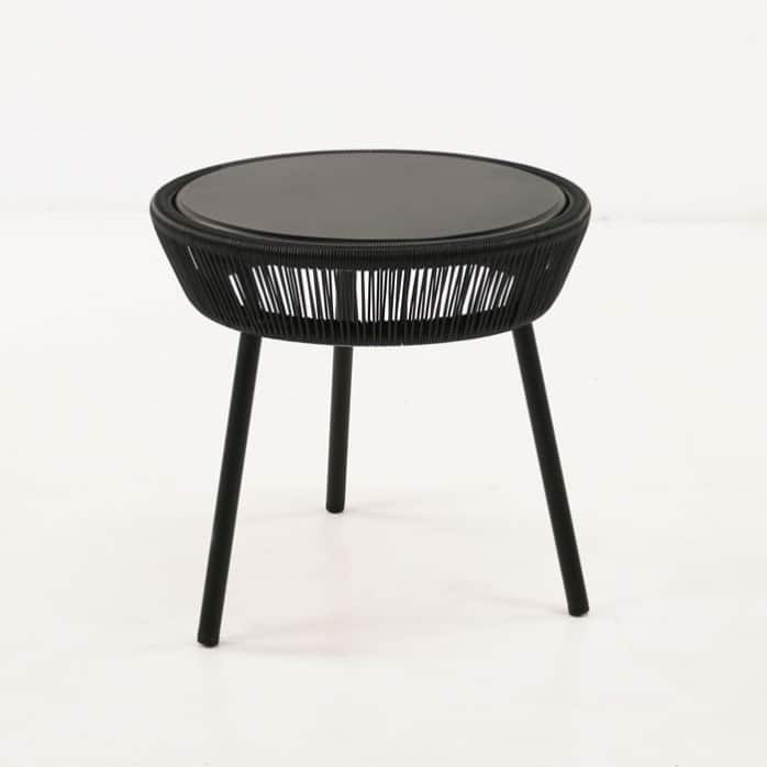 luxe outdoor accent table black design warehouse nz. Black Bedroom Furniture Sets. Home Design Ideas