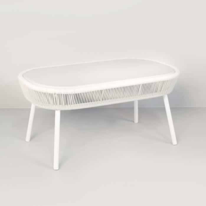 White Coffee Table Nz: Luxe Outdoor Coffee Table (White)