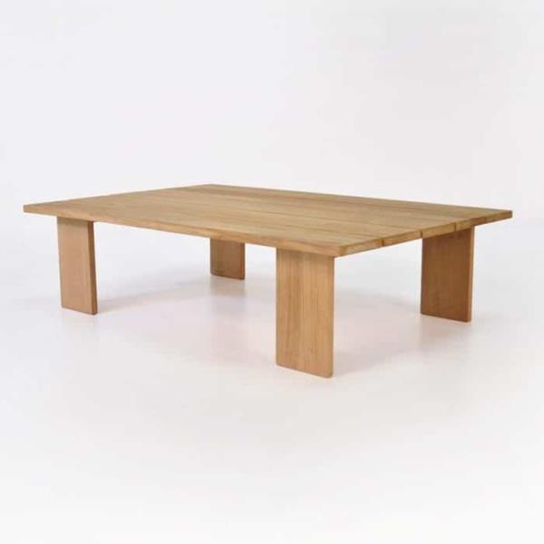 soho teak rectangle coffee table
