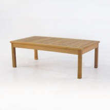 st tropez teak coffee table front