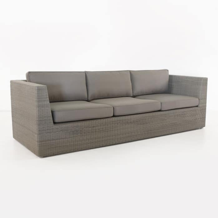 Antonio stonewash wicker sofa
