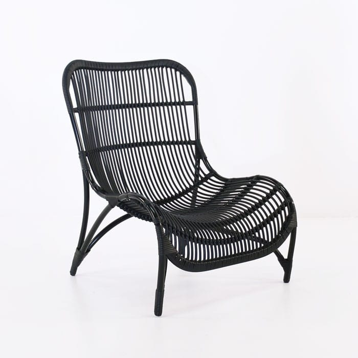 Elle outdoor wicker relaxing chair patio furniture for Relaxing chair design