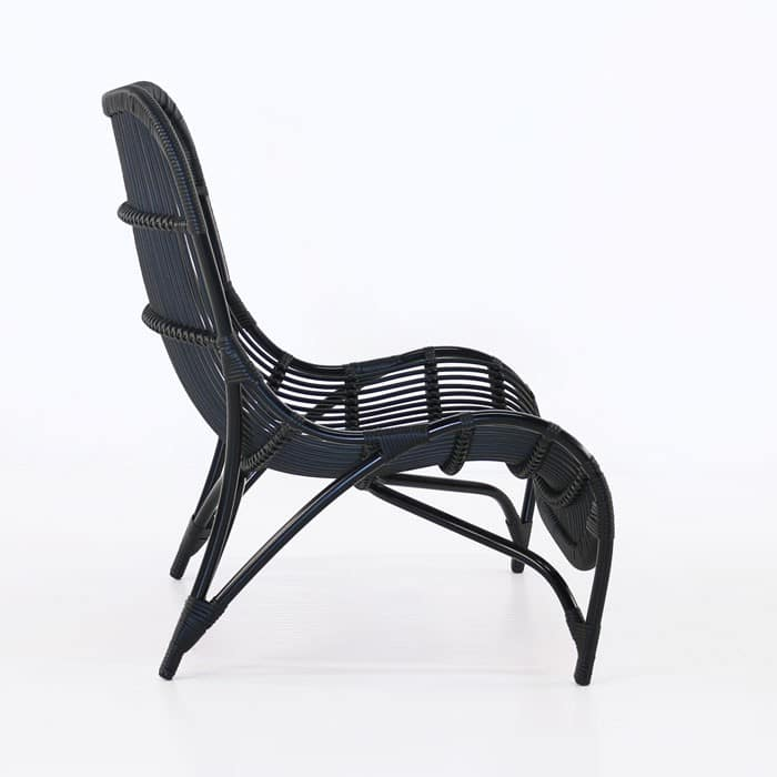Elle Outdoor Wicker Relaxing Chair Patio Furniture