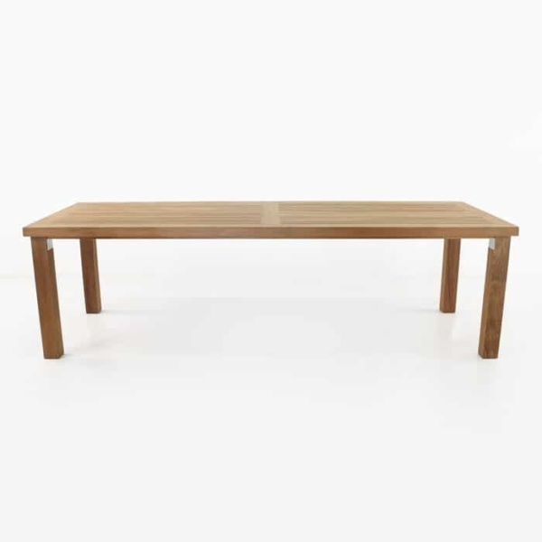 Long Island A-grade teak dining table