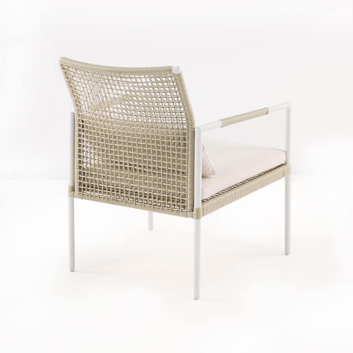 Moderno relaxing chair back view