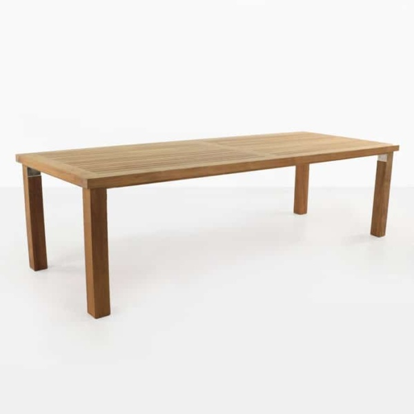 Long Island high quality a-grade teak dining table