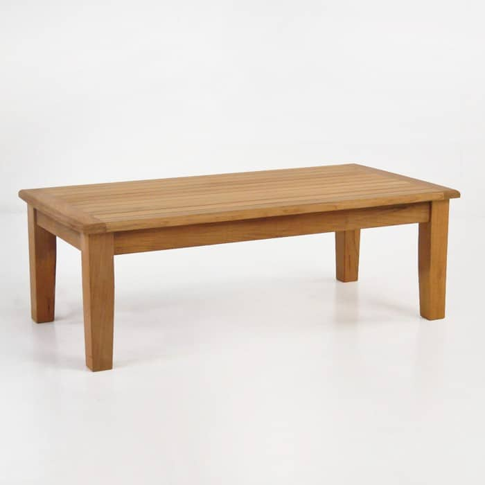 westminster teak coffee table