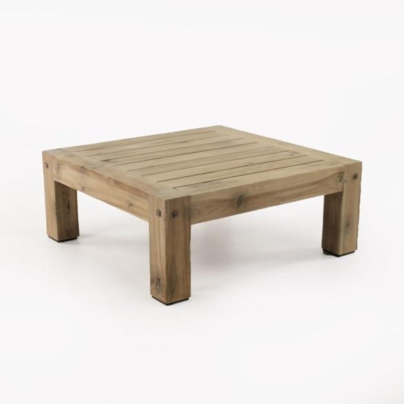 Lodge Outdoor Distressed Teak Coffee Table Design Warehouse Nz