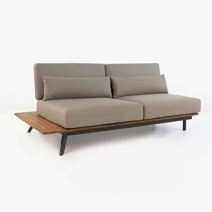 Platform Reclaimed Teak Sofa Daybed Right Design