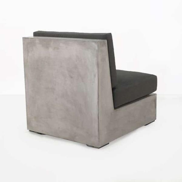Box concrete outdoor chair center