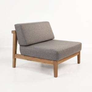Copenhague Reclaimed teak center chair