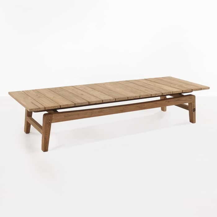 Copenhague reclaimed teak coffee table