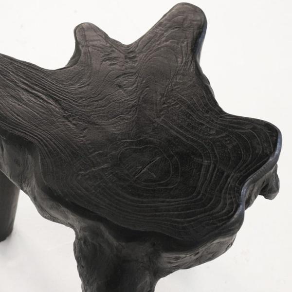 Cumi black teak root close up