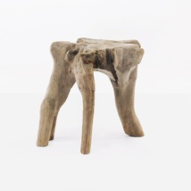 Cumi teak root side table