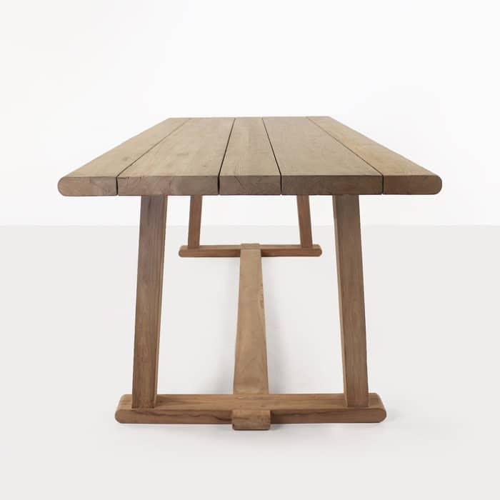 Joseph reclaimed teak dining table long view