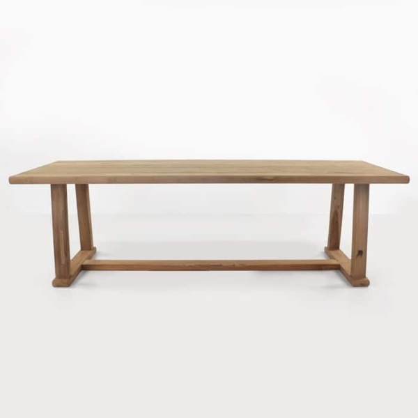 Joseph reclaimed teak dining table side