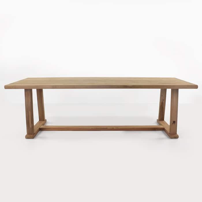 Joseph reclaimed teak dining table side