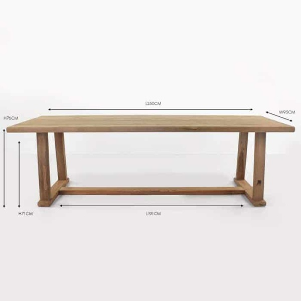 Joseph Rectangular Outdoor Dining Table