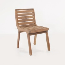 Oslo reclaimed teak dining chair