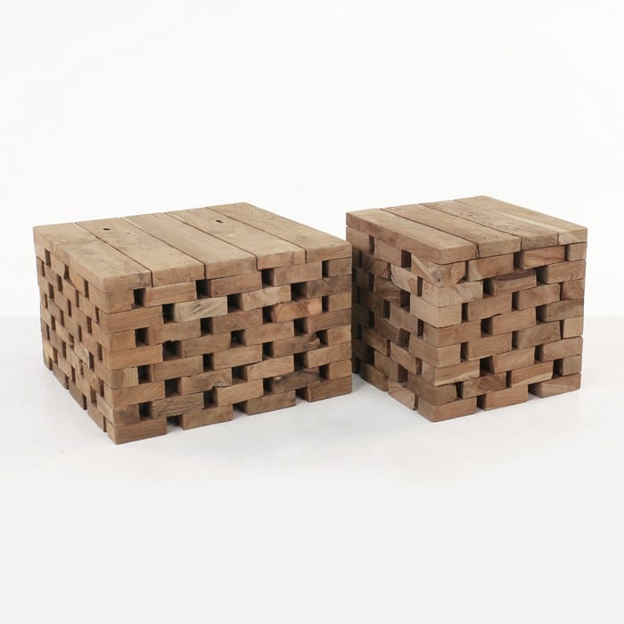 Puzzle Reclaimed Teak Coffee Tables | Design Warehouse NZ