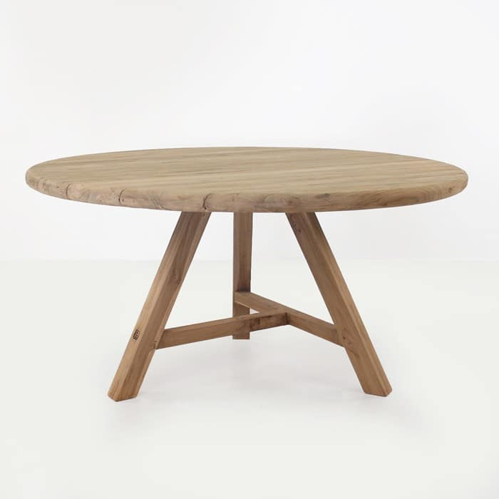 Toni Reclaimed Teak Round Outdoor Dining Table Design  : toni table back from designwarehouse.co.nz size 700 x 700 jpeg 39kB