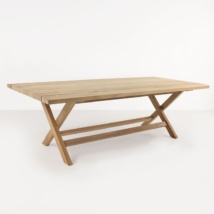 Artisan a-grade teak dining table