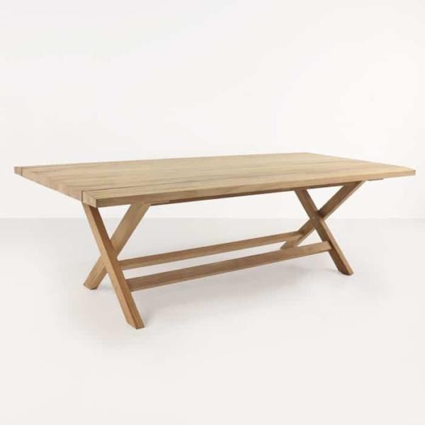 Artisan a-grade teak dining table