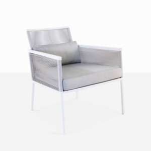 Republic outdoor woven relaxing chair modern outdoor chair with cushions