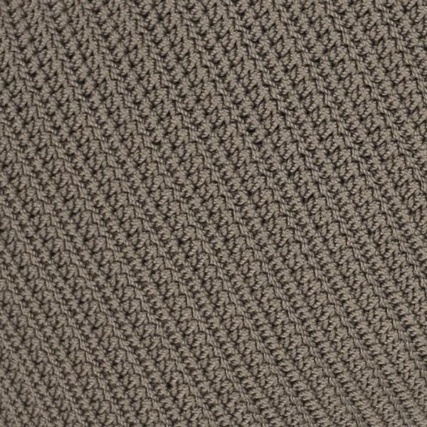 Gigi square crochet pillow pattern pebble close up