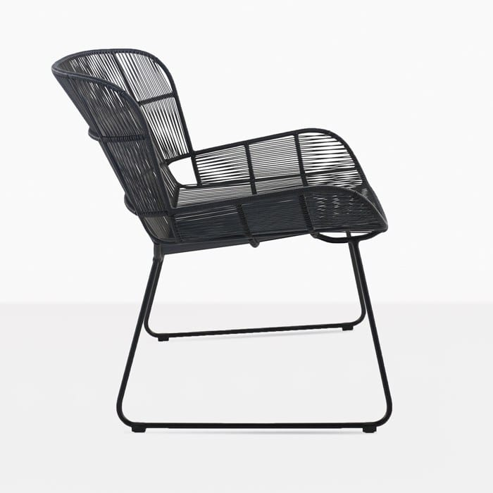 Nairobi woven relaxing chair black modern outdoor for Relaxing chair design