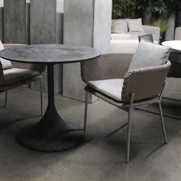 studio cyprus woven dining chair