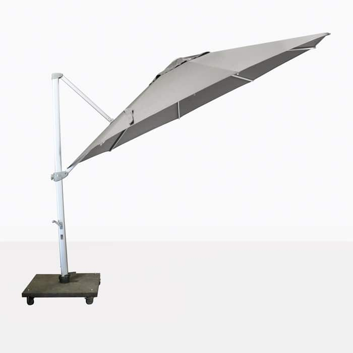Antigua tilting outdoor grey umbrella