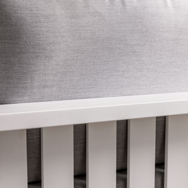 mykonos aluminium left arm sofa in white closeup view