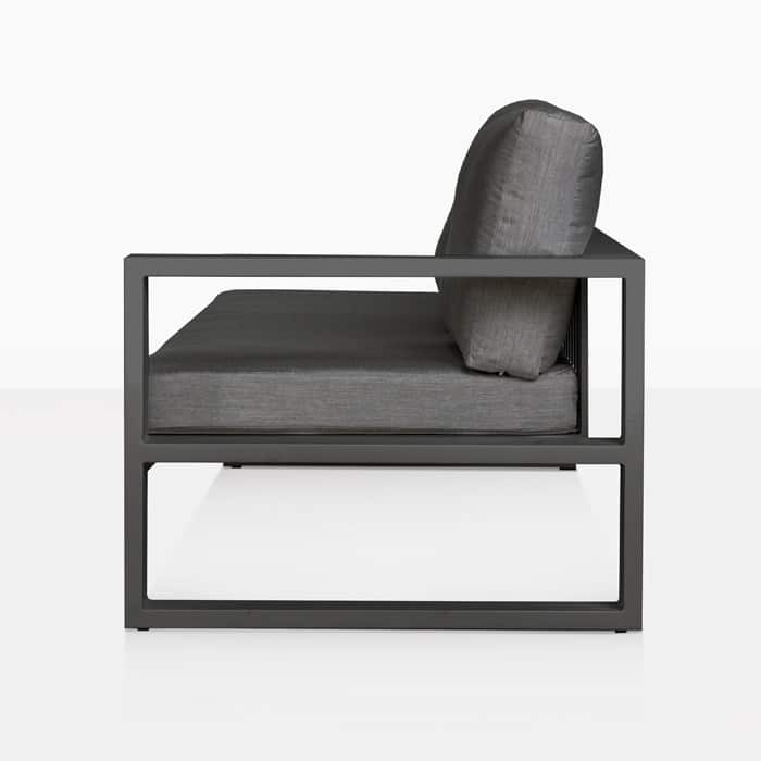 Mykonos outdoor sectional sofa left arm in charcoal for Sectional sofa nz
