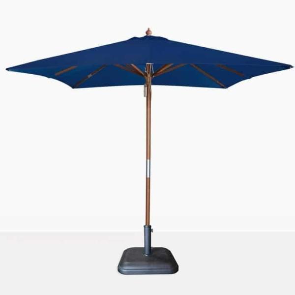 Dixon Dark Blue Square Outdoor Umbrella